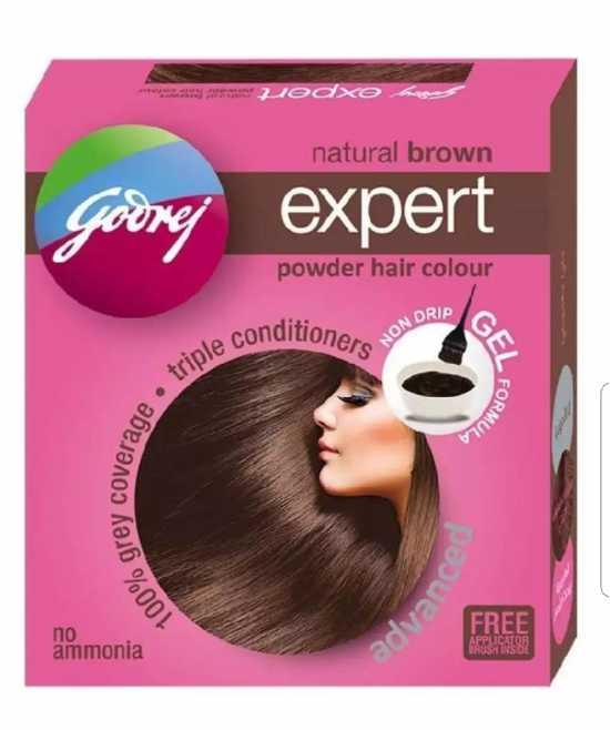 Goorej Expert Natural Brown Powder Hair Colour