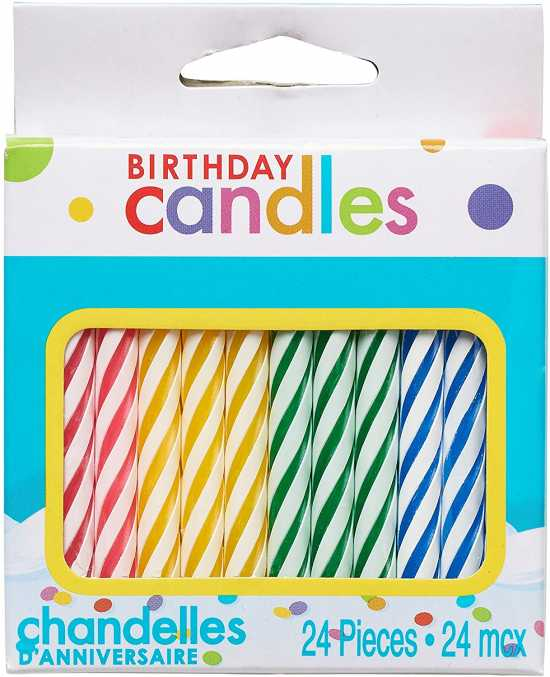 10 Pcs Birthday Blowing Immortal Candle
