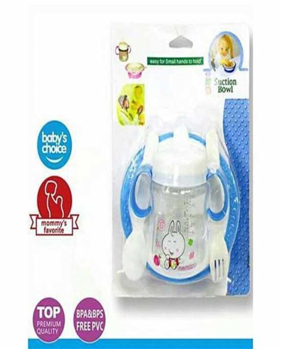 Pack Of 4 Baby Feeding Suction Bowl Set