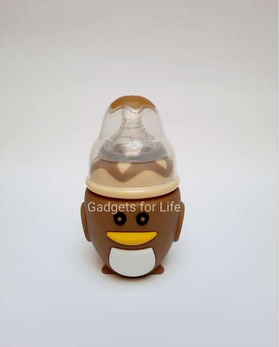 Baby Glass Feeder with Silicon Cover
