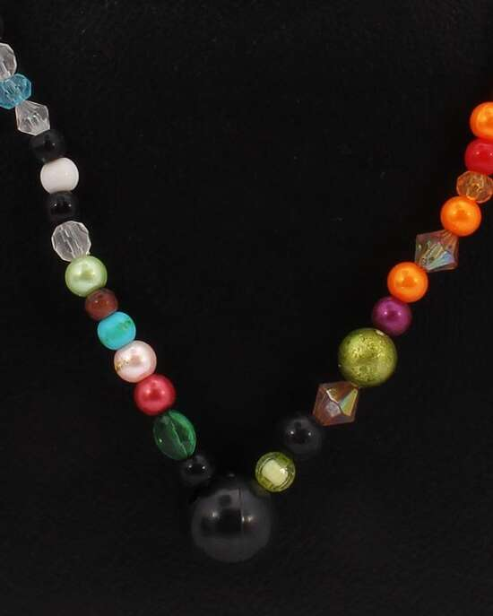 100 Degreez, MultiColor, Plastic, Necklace for Women