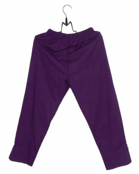 Fashion Café's, MultiColour, Cigarette Pants in Cotton Fabric for Girls