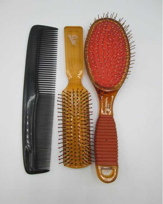 Pack Of 3 - 1 Comb & 2 Brushes