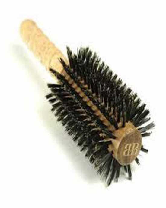 IC Corner blow drying brush brown(LARGE)