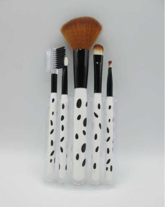 Set of 5 Cosmetic Brushes