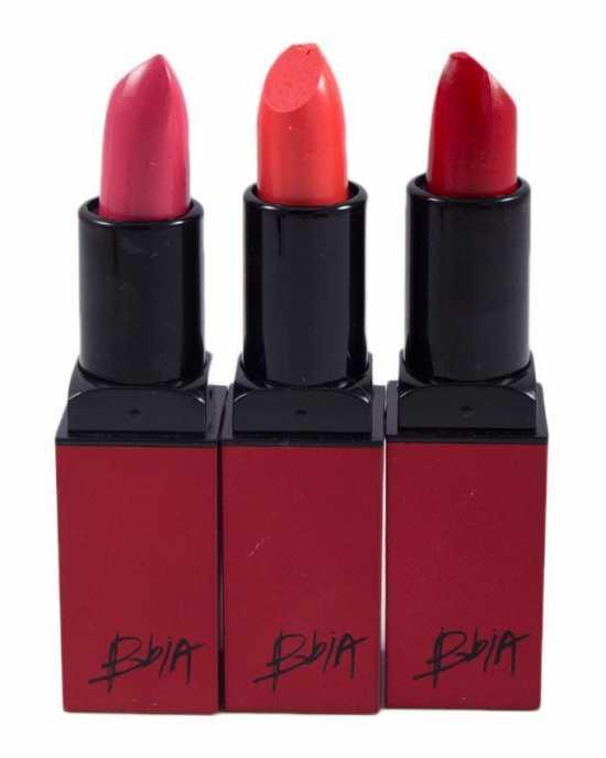 Pack of 3 Lipsticks
