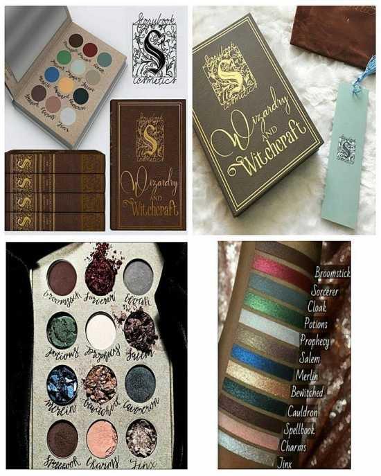 Wizardry And Witchcraft Eyeshadow Palette Book