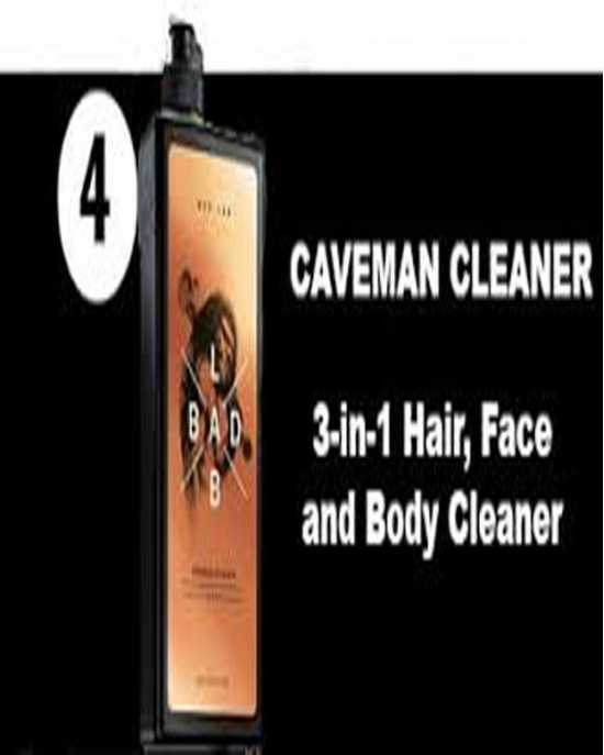 3-In-1 Hair, Face & Body Cleaner