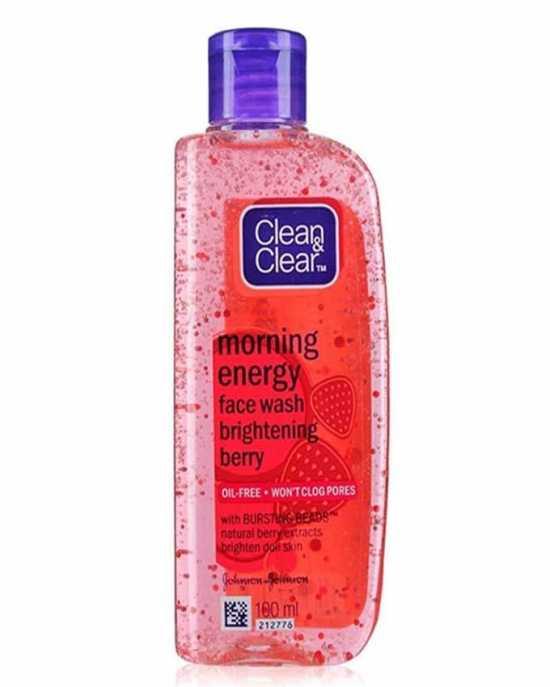Morning Energy Face Wash Purifying strawberry 50 ml
