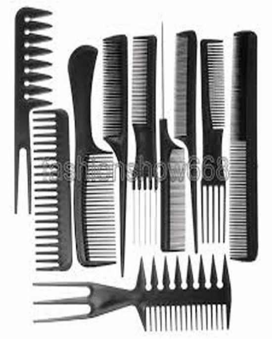 Comb Set Black