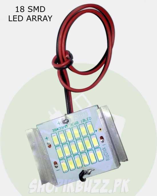 18 LED STRIP ARRAY LED COOL BRIGHT WHITE LIGHT PANEL BOARD DC 12V Shopikbuzz