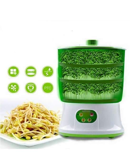 Beans Sprout Maker Machine   3 Layers