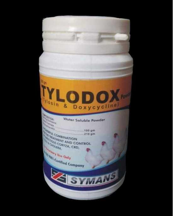 YLODOX Tylosin & Doxycycline Solvable in Water - 100g