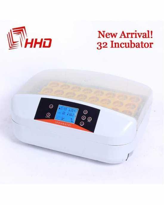 HHD 32 Digital Egg Incubator Temperature Control Automatic Turning Chicken...