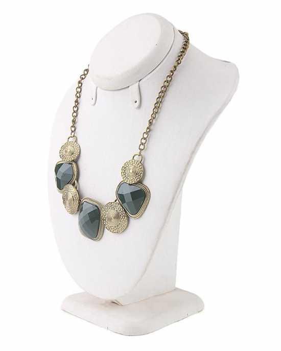 Multicolor Alloy Wild Chain Necklace