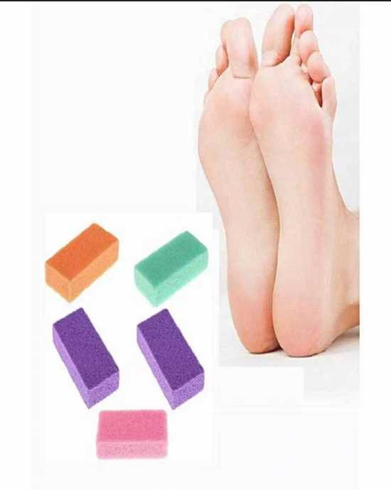 pedicure/foot care Foot Pumice Stone,pedicure tools for foot,random SIZE...