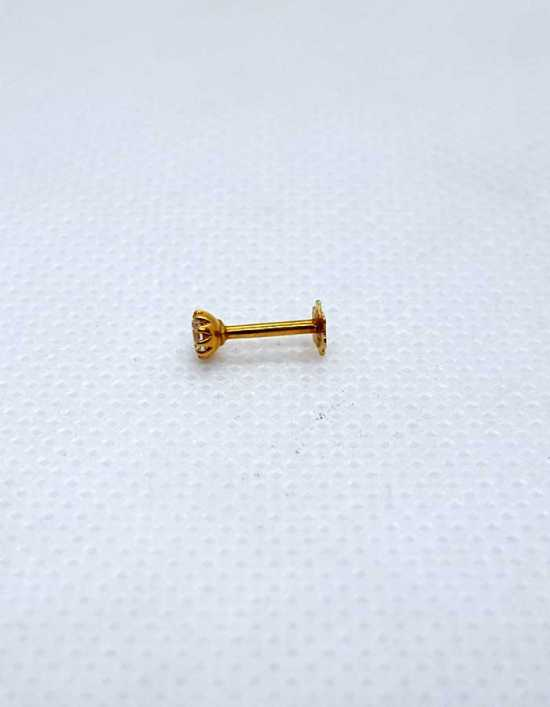 Classical Gold Nose Pins NP0004