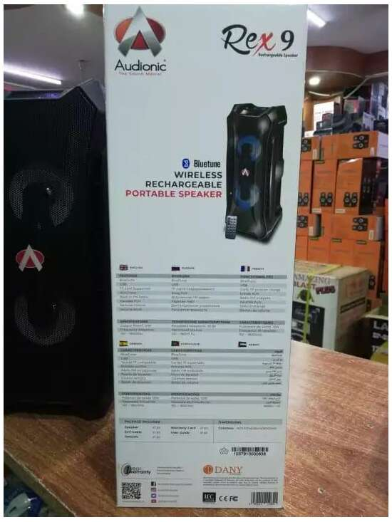AD Wireless REX 9 Portable Speaker - Rechargeable