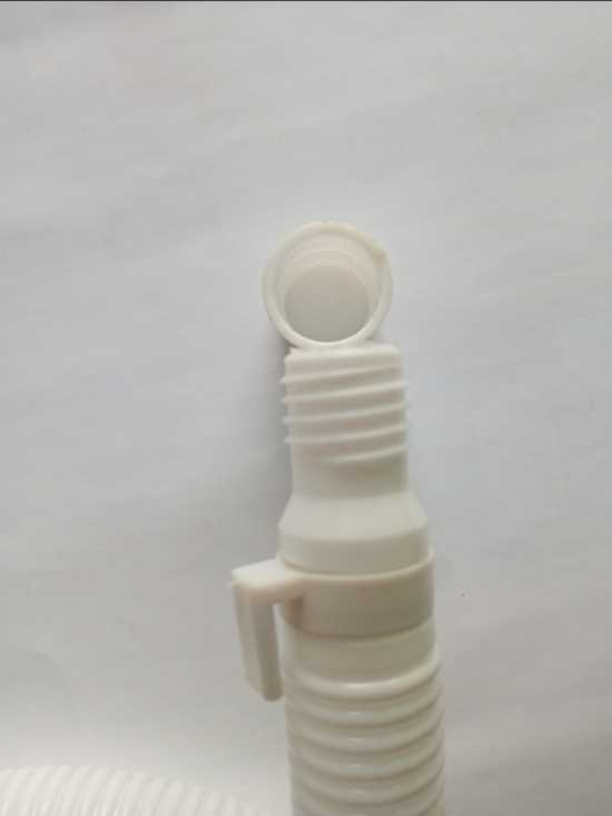 Washing machine outlet pipe