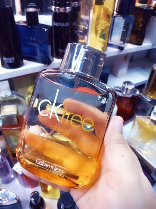CK Free Energy 100ml Perfume for Men