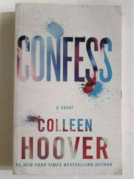 Confess Book by Colleen Hoover