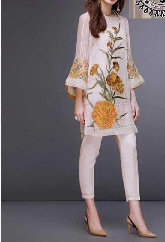 Stylish FANCY COTTON DRESS