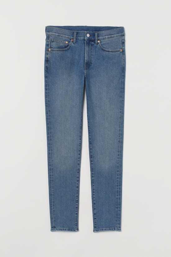 JEANS Livergy Mens Blue Denim Jeans Strecthable in Regular Waist...