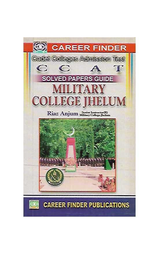 CCAT (Cadet College Admission Tests) OLD Author: Riaz Anjum