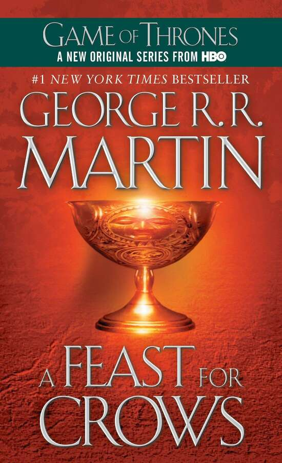 A Feast For Crows (A Song Of Ice And Fire) Complete Book 4/5 Game Of Thrones...