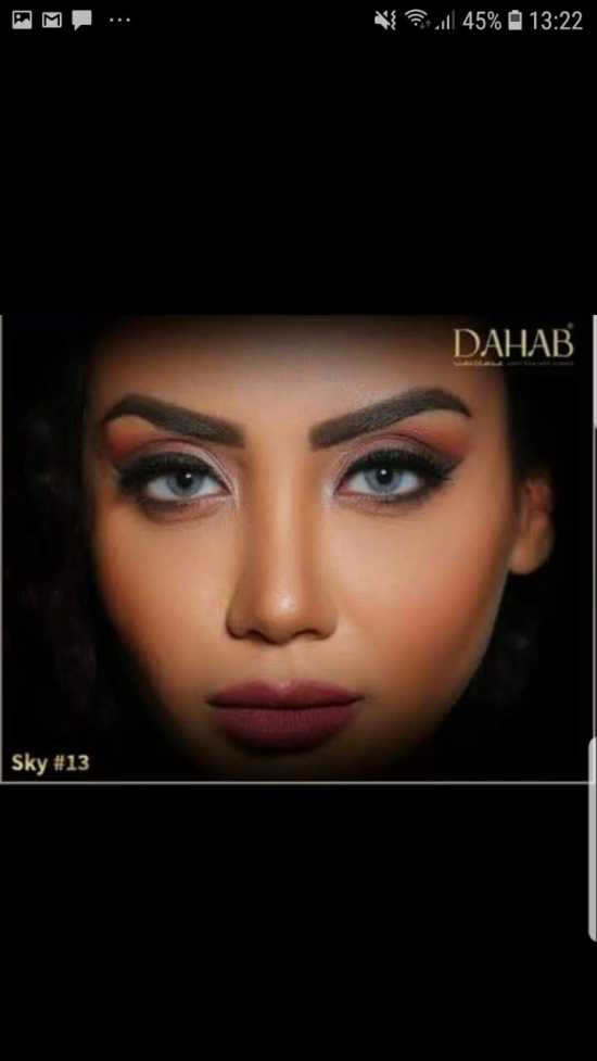 Dahab Contact Lenses With Solution  kit